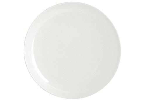 ProChef Assiette ronde en porcelaine blanche 26 cm (4 pièces)