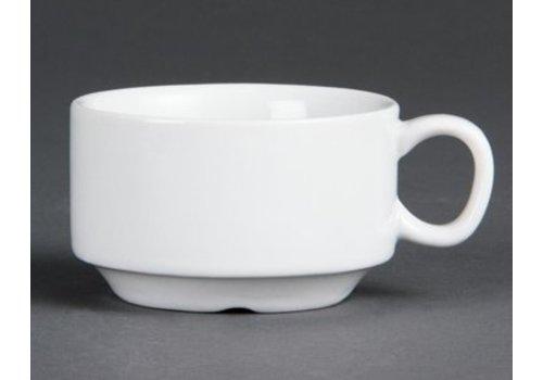 Olympia Tasse à espresso empilable blanche