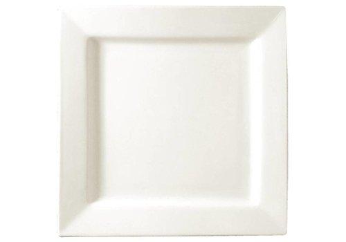 ProChef assiette carrée blanche 17 cm (6 pièces)
