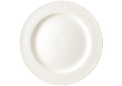 ProChef Assiettes traiteur porcelaine blanche 23 cm (pièces 6)