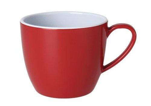 Olympia Mug rouge en mélamine Kristallon Gala 285ml