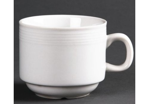 Olympia Tasse à thé empilable Linear 20cl