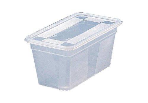 Bourgeat Boîte alimentaire plastique 1/3   5 pièces