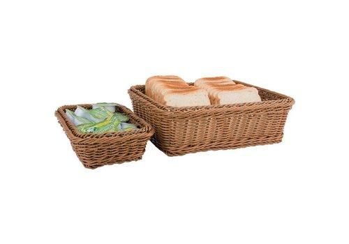 APS Panier à pain brun pour buffet | 6 tailles