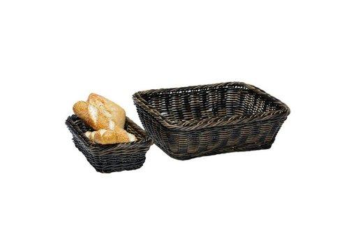APS Panier à pain noir pour buffet | 6 tailles