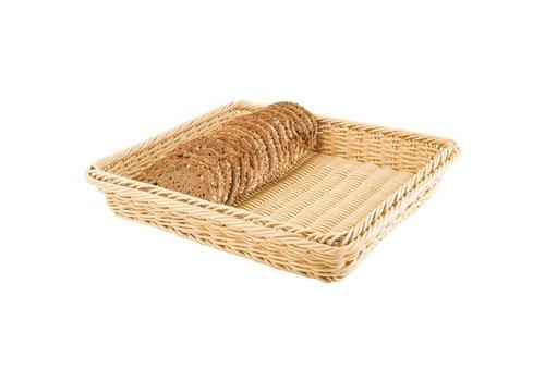 APS Panier à pain brun clair pour buffet | 6 tailles