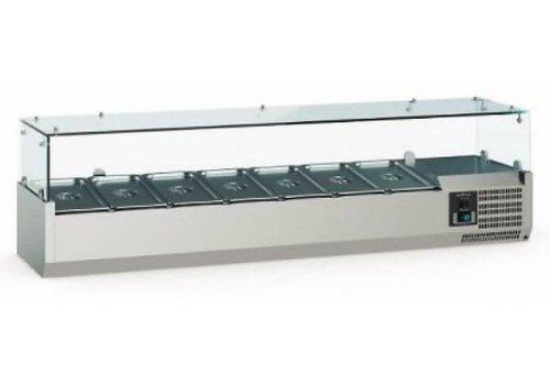Ecofrost Vitrine de montage réfrigérée| 6 modèles | 1/3 GN