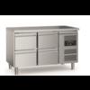 Ecofrost 700 Etabli de refroidissement | 4 tiroirs | Pieds réglables