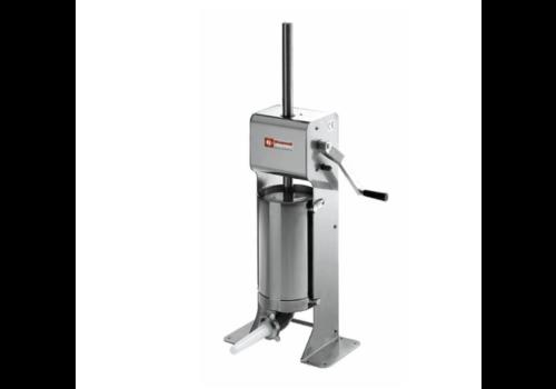Diamond Poussoir manuel vertical | 12 litres | INOX | 43,5x26x(h)110 cm