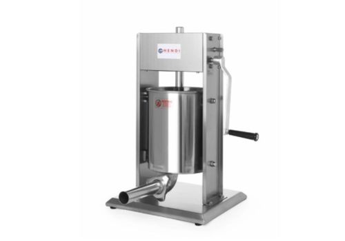 Hendi Machine à Saucisse | Inox | 10 Litres