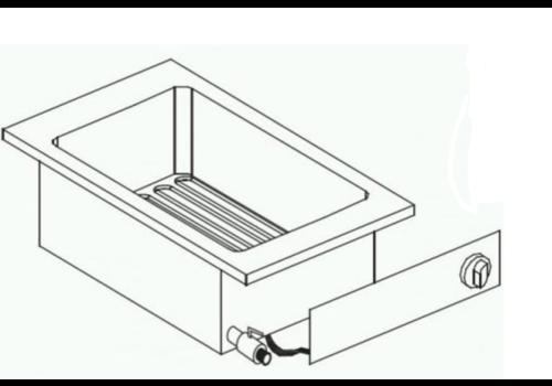 Combisteel Friteuse electrique  | Robinet de Vidange | 10 Litres | 5,5 kW