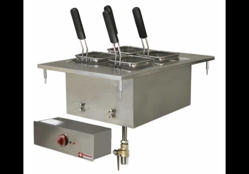 Diamond Cuiseur à Pâtes Electrique encastrable   Inox   20 Litres   400V/6kW