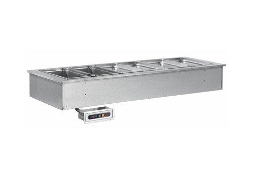 Combisteel Cuve Chauffante encastrable   4x1/1GN   230 V   1494X650X(h)290mm