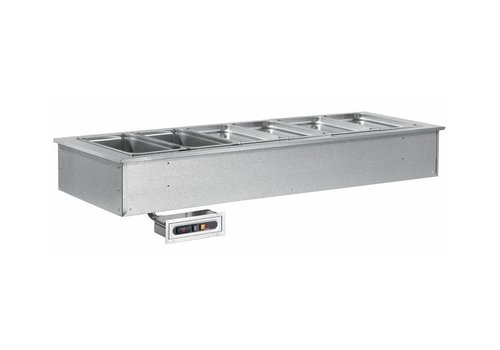 Combisteel Cuve Chauffante encastrable   5x1/1GN   230 V   1819X650X(h)290mm