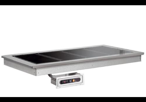 Combisteel Plaque Chauffante | 2x1/1GN | 0,57KW/230V