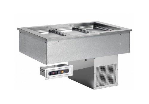 Combisteel Cuve Réfrigérée | À encastrer | 4x1/1GN | 230 V | 1494X650X(h)565mm