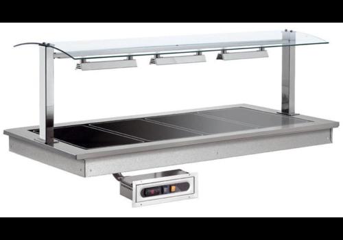 Combisteel Plaque Chauffante | 5x1/1GN |1,425KW/230V