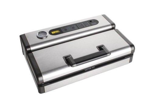 Buffalo Machine Sous Vide Inox/ABS | 130W | Soudure 300mm | Pour Sacs Gaufrés | 125(H) x 400(L) x 265(P)mm