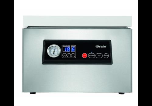 Bartscher Machine Sous-Vide | 300mm | 60L /min | 2 Cordons de Soudure | 0,35 kW | 375x440x(H)271mm