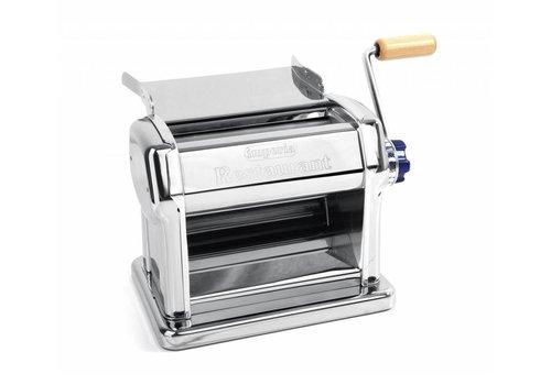 Hendi Machine à Pâtes Manuel | Profi Line | Épaisseur 0,5 à 5mm | 325 x 220 x 275(h) mm | Epaisseur réglable de 0,5 à 5 mm