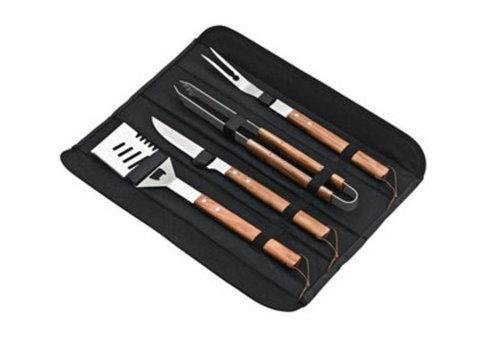 ProChef Kit barbecue 4 ustensiles