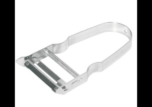 Hendi Couteau à Éplucher Inox - Modèle Transversal - Lame 50/110mm