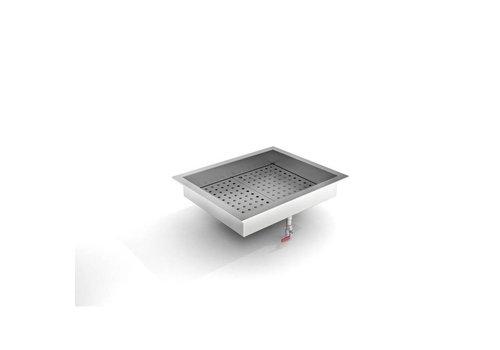 ProChef Bac à Glace Pilée | 2/1 GN | 722 (L) x 590 (P) x 170 (H) mm