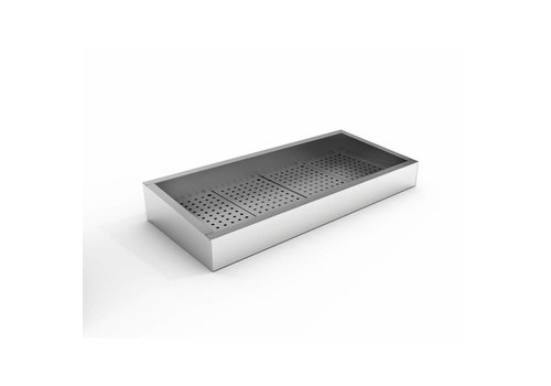 Combisteel Bac à glace pilée   402 x 590  x 160/210 mm