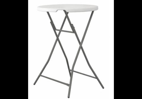 Hendi Table Haute Rond   Pliable   Ø80x110(h)cm