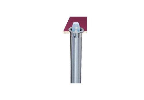 San Jamar Distributeurs de gobelets - Diamètre de gobelet 56-81 mm