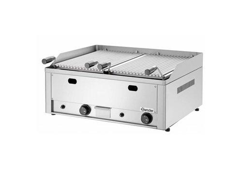 Bartscher Grill à pierre de lave | Modèle de table 70 | 8 kW | L x 660 P 570 x H 282 mm