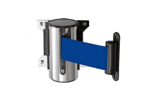 Saro Enrouleur | Inox | Bleu | 300 cm