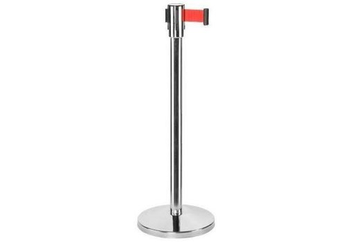 Saro Pilier Chrome | Corde Rectable Rouge | 9kg | 180cm