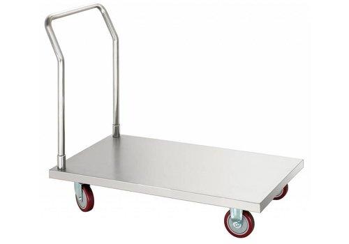 Bartscher Chariot à Transport Inox - 560x1050x925(h)mm