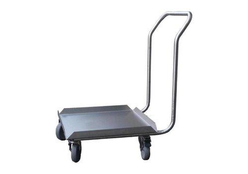 ProChef Socle Inox pour Lave-Vaisselle avec Poignée | 50x50cm