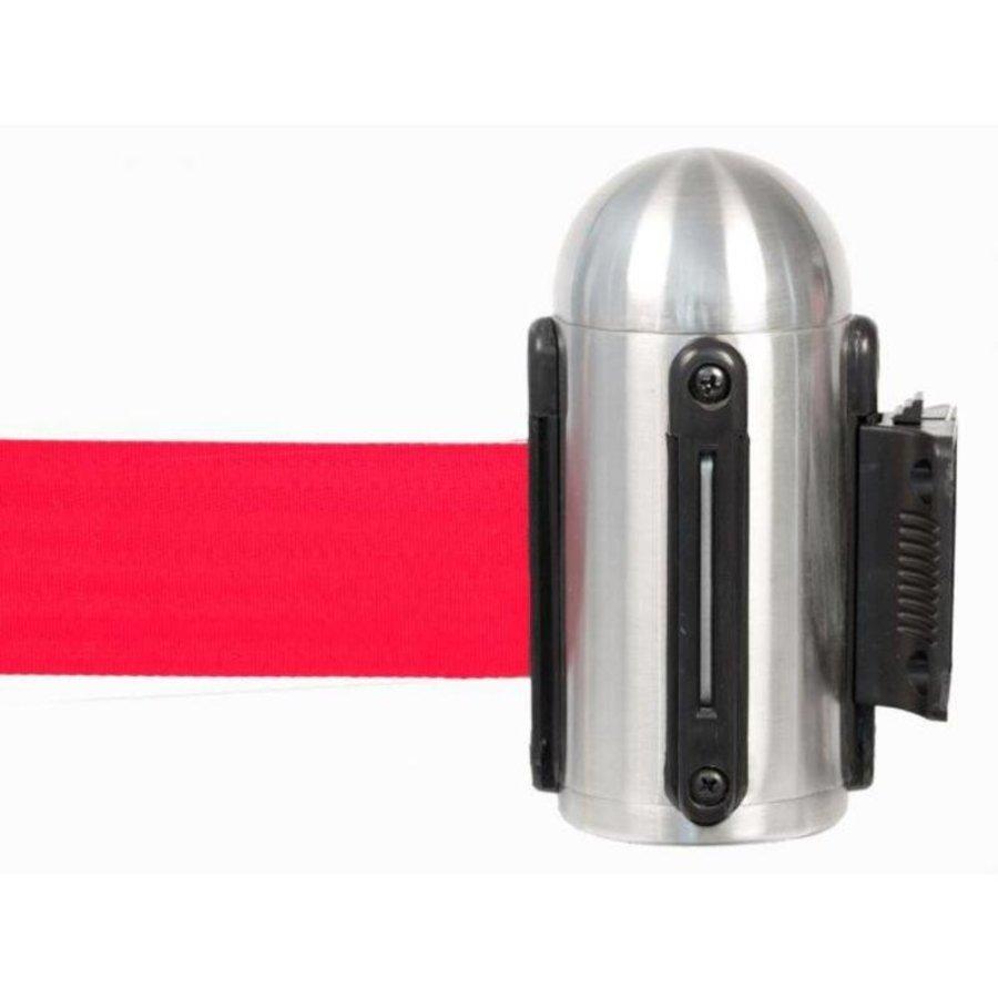 Accroche Murale à Bande Réctable   Rouge   210 cm