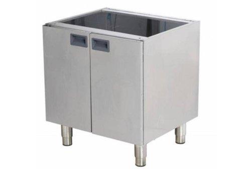 Combisteel Support avec Portes   pour 600x600mm   600x520x660(h)mm