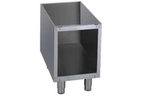 Diamond Soubassement Ouvert | pour Grill | 1/2 module | 400x540xh570mm
