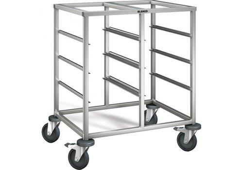Blanco Chariot à glissières | 8 x 1/1 GN | 81,2x62,5x90 cm