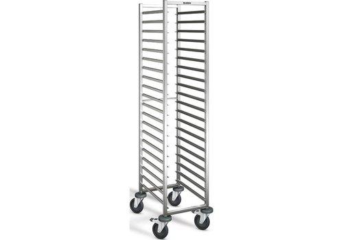 Blanco Chariot à glissières | 12 x 1/1 GN | 116,5x62,5x90 cm
