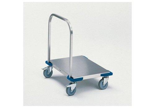 Blanco Chariot à plate-forme en acier inoxydable | 80 x 60 | 100 KG
