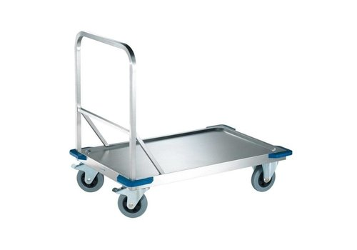 Blanco Chariot à plate-forme en acier inoxydable | 100 x 60 | 400 KG