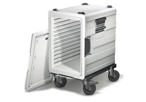 Blanco Conteneur de transport de repas en plastique   3 x 1/1 GN