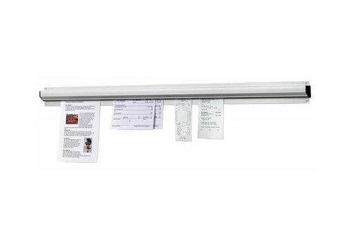 Bartscher Porte-Bons De Commandes | Aluminium | 910mm
