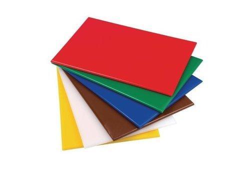 ProChef Planche à Découper Hygiplas - 450x300x12mm - 6 couleurs