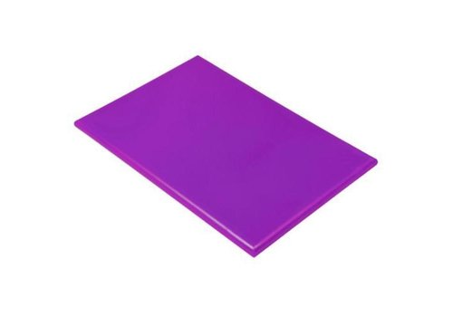 Hendi Planche à Découper HACCP Violet   450x300x12(h)mm