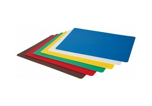 Hendi Plaques de Découpe Flexibles | Selon HACCP | Polypropylène | 6 Pièces