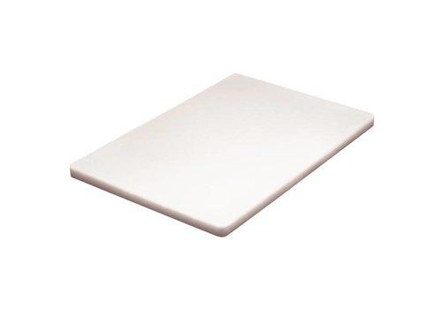 Hygiplas Planche à Découper - Basse Densité - 450 x 300 x 20mm - 6 couleurs