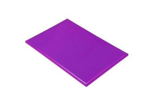 Hendi Planche à Découper HACCP Violet   600x400x18(h)mm