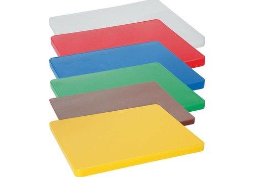 Hendi Planche à Découper HACCP 600x400mm  - 6 couleurs